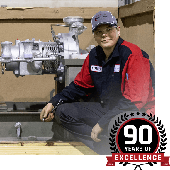 90 years of excellence
